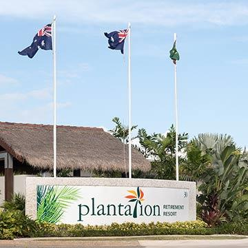 Plantation Retirement Resort Morayfield entrance